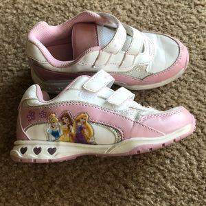 Disney Princess Girls light up sneakers 11
